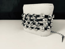 Load image into Gallery viewer, Versatile Spike Wrap Bracelet or Necklace