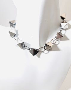 Pyramid Chain Necklace