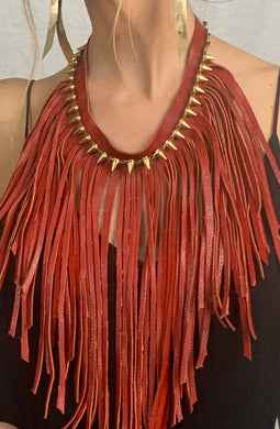 Kristina Fringe Necklace