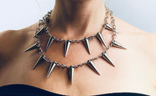 Load image into Gallery viewer, Lucille Layered Spike Necklace