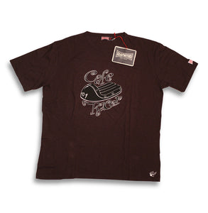"Krautmotors ""Cafe Racer 2012"" T-Shirt Braun"