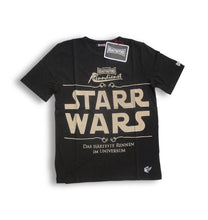 "Laden Sie das Bild in den Galerie-Viewer, KRAUTMOTORS ""StarrWars"" T-Shirt Oliv/Beige/Braun"