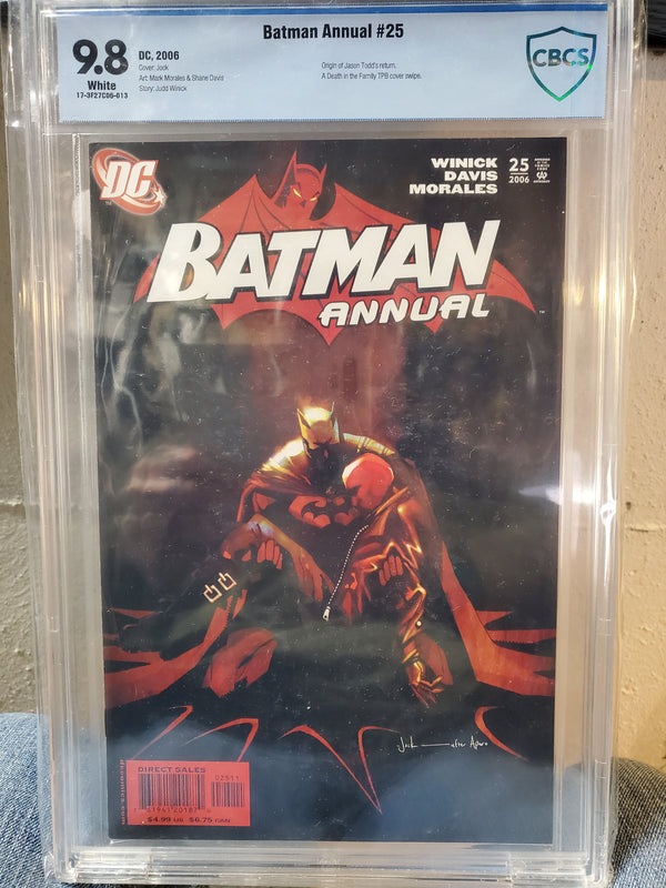 BATMAN ANNUAL #25 9.8 CBCS