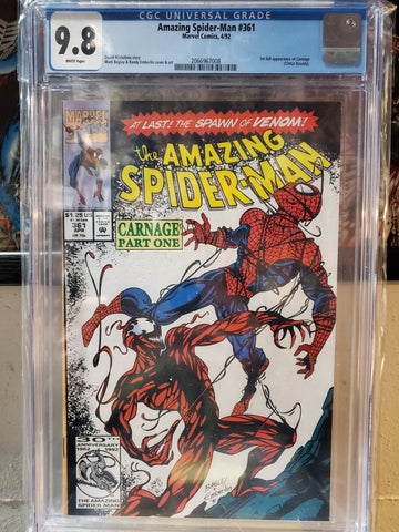 AMAZING SPIDER-MAN #361 9.8 CGC
