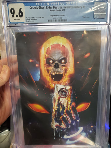 COSMIC GHOST RIDER DESTROYS MARVEL HISTORY #1 GREG HORN