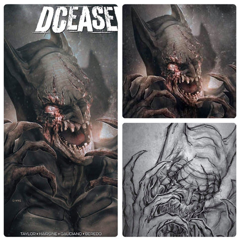 DCeased #2 John Giang Variant Covers