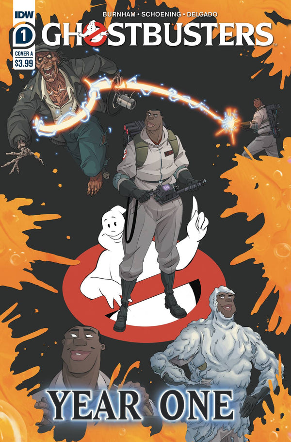 GHOSTBUSTERS YEAR ONE #1 (OF 4) CVR A SHOENING (C: 1-0-0)