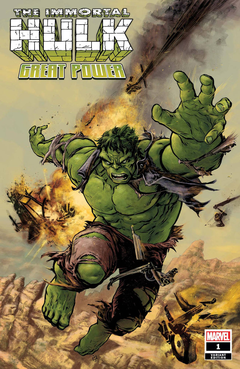 IMMORTAL HULK GREAT POWER