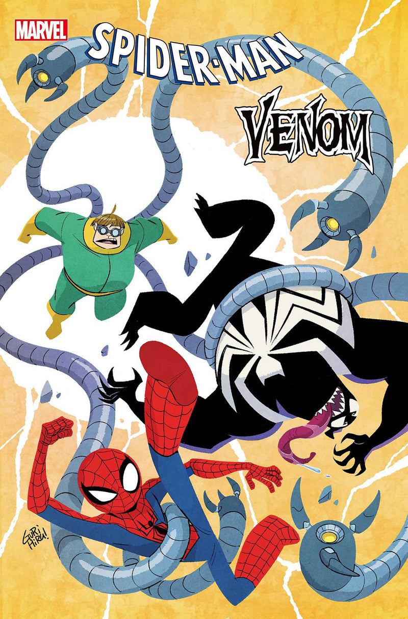 SPIDER-MAN & VENOM DOUBLE TROUBLE