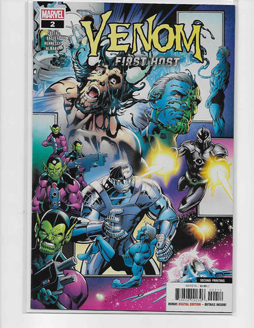 Venom First Host #2 Second Print