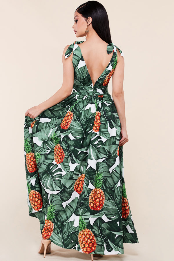 Tropical Getaway Maxi Dress