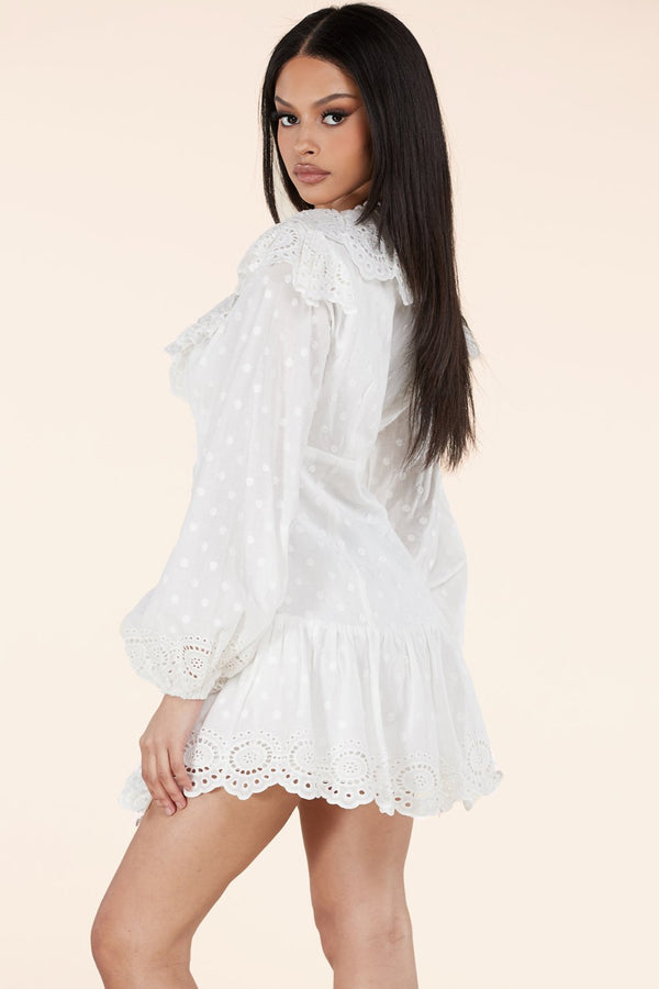 Clear Skies Mini Dress