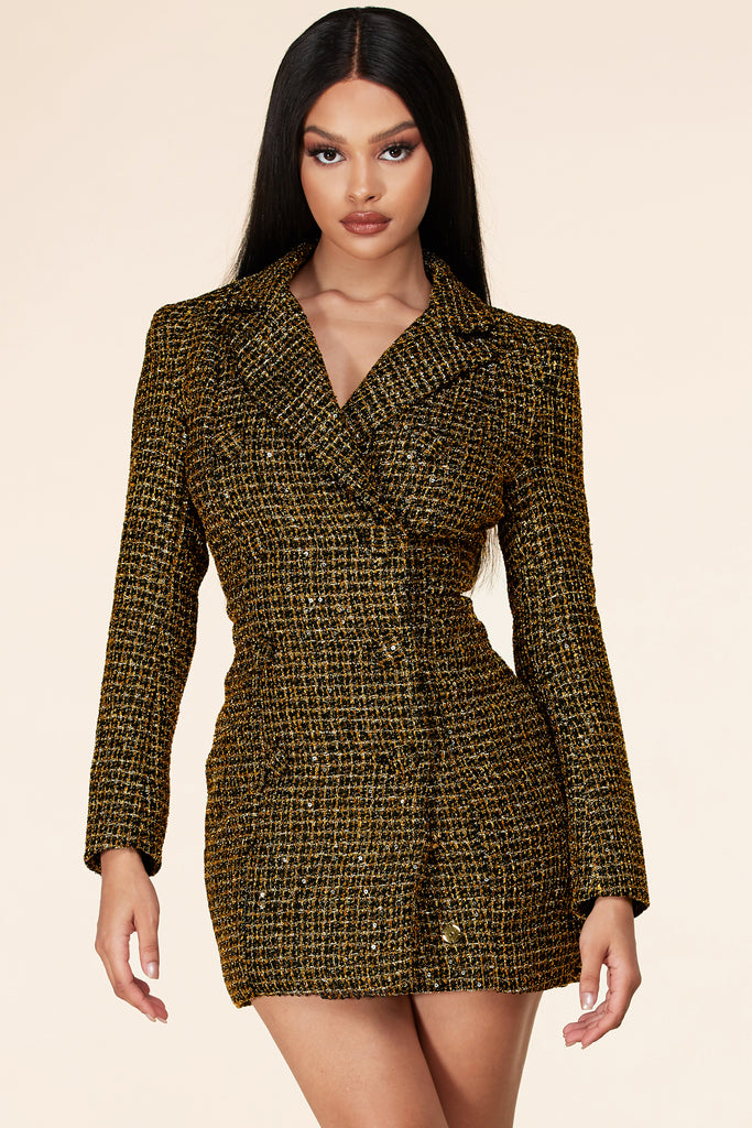 Miranda Blazer Mini Dress