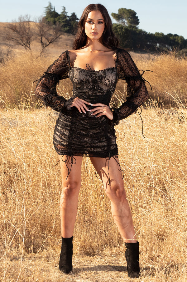 Just in Lace Mini Dress