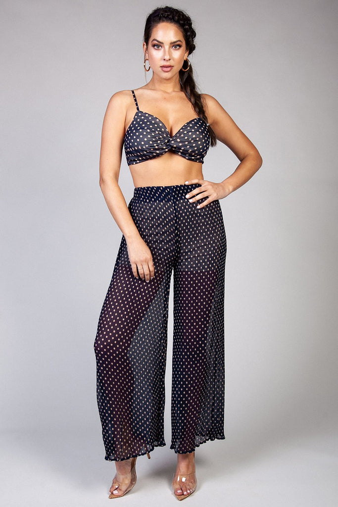Ruth Polka Dot Pants Set