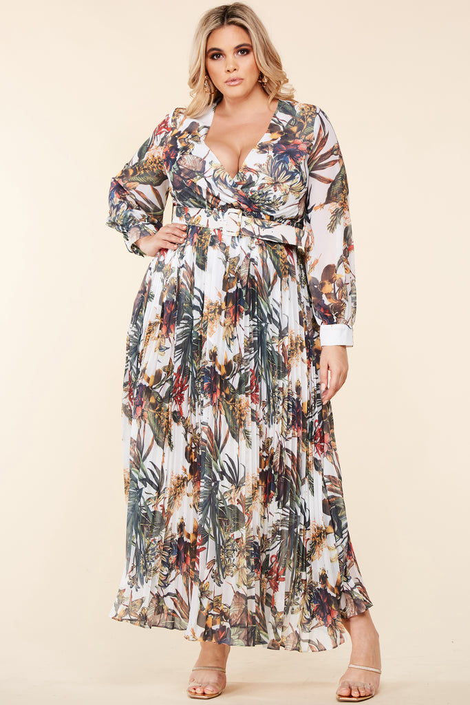 Plus Into The Topics Maxi Dress