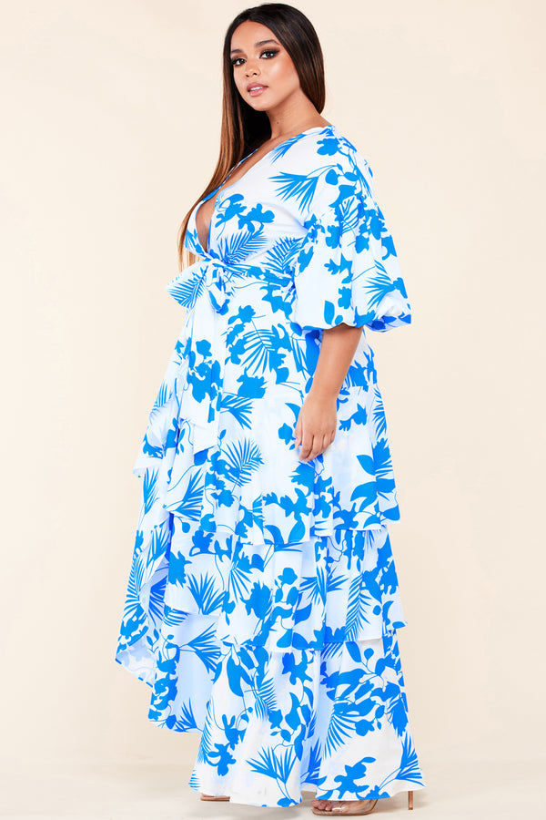 Plus On An Island Maxi Dress
