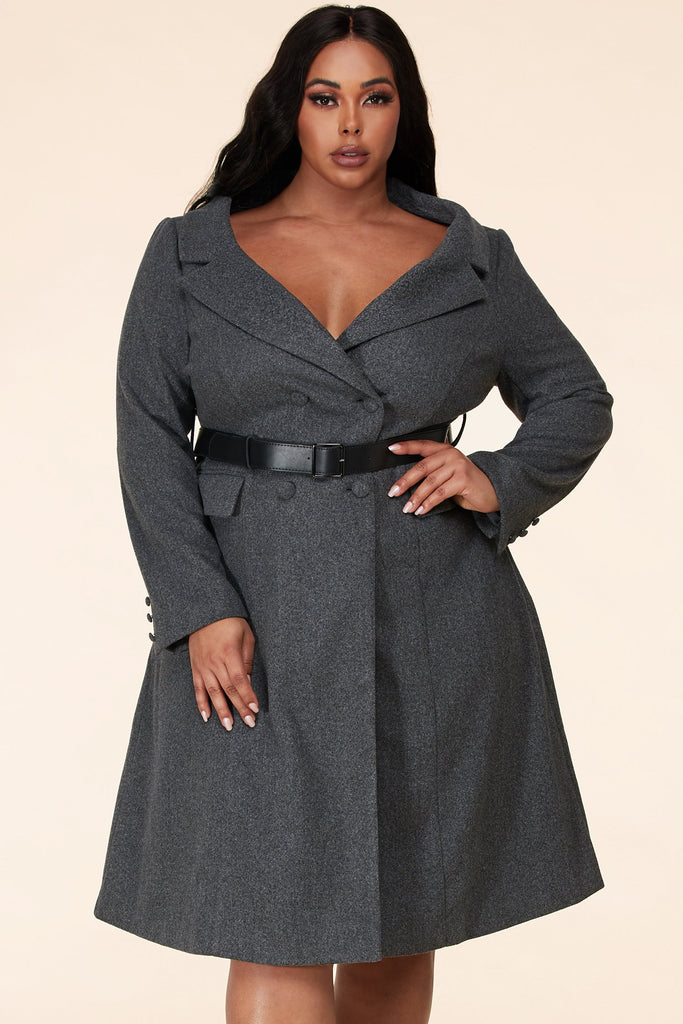Plus Bon Chic Charcoal Dress