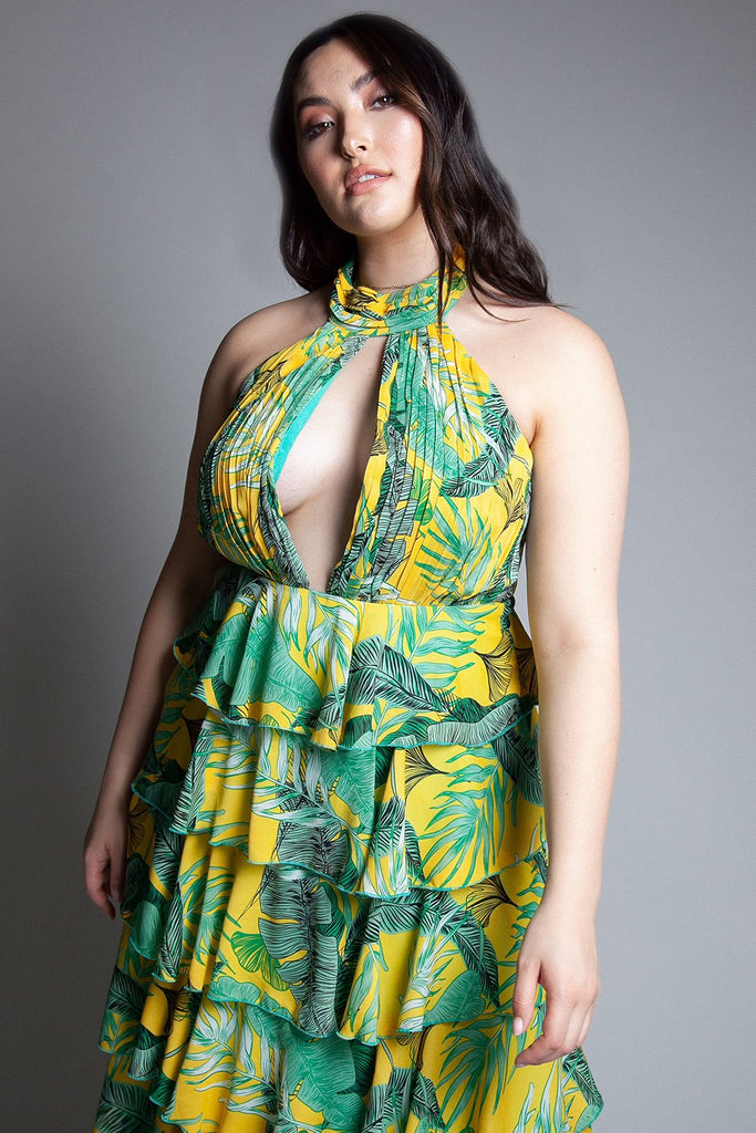 Tropical Oasis Maxi Dress