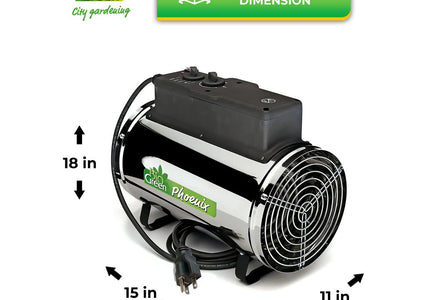 Load image into Gallery viewer, Phoenix Greenhouse Heater 2800 W / 9554 BTUs