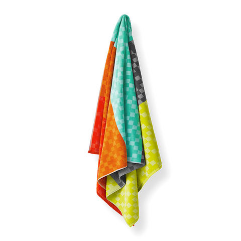 Check Beach Towel | Multi