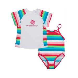 Swimsuit Set | Multi Stripe