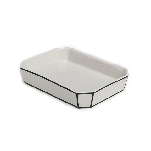 Soap Dish | Black Edge