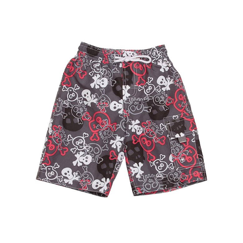 Boardies | Red Skulls