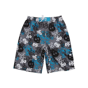 Boardies | Blue Skulls