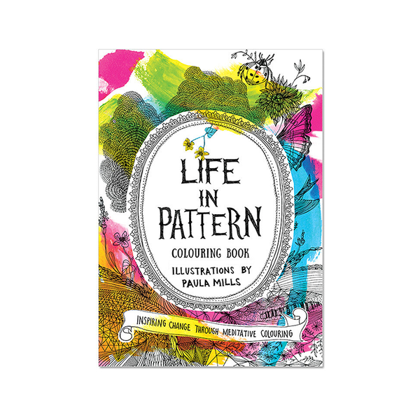 Adult Colouring Book | Life in Pattern