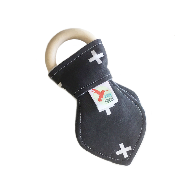 Teething Ring | Crosses