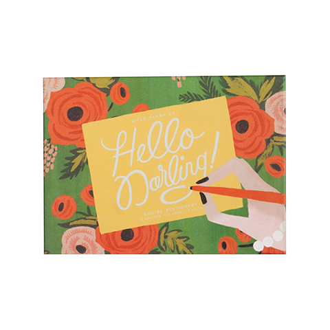 Hello Darling Stationery Set