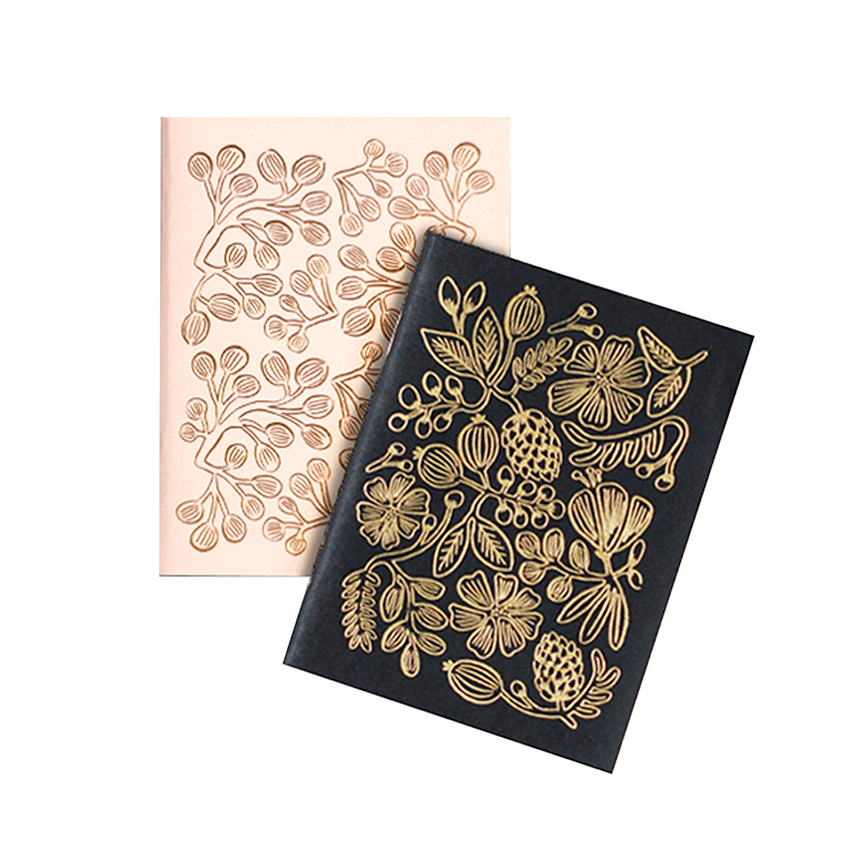 Gold Foil Notebook Set