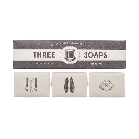 Gentleman's Soap Set