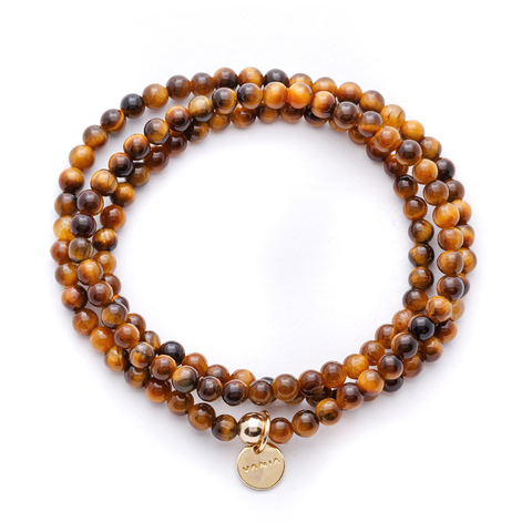 Tiger's Eye Wrap Bracelet