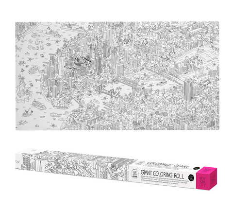OMY France ~ Giant Colouring Roll XXL | New York