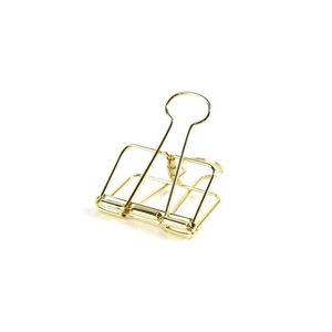 Gold Bulldog Clips - Large | Pack of 3