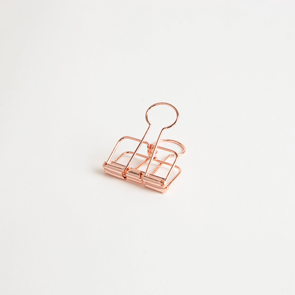 Copper Bulldog Clips - Small | Pack of 6