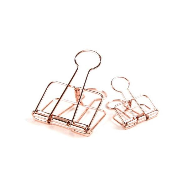 Copper Bulldog Clips - Large | Pack of 3