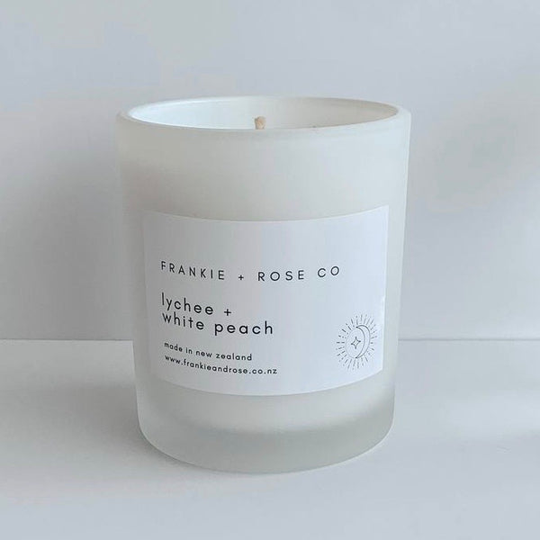 Candle | Lychee + White Peach