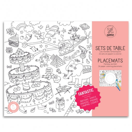 Colouring Placemat Set | Fantastic