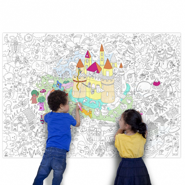 Giant Colouring Poster | Magic