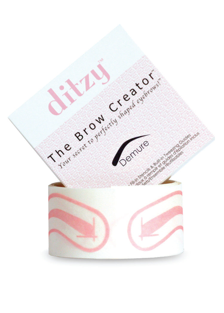 The Brow creator Hands Free stencils so easy to use and reuse for several days