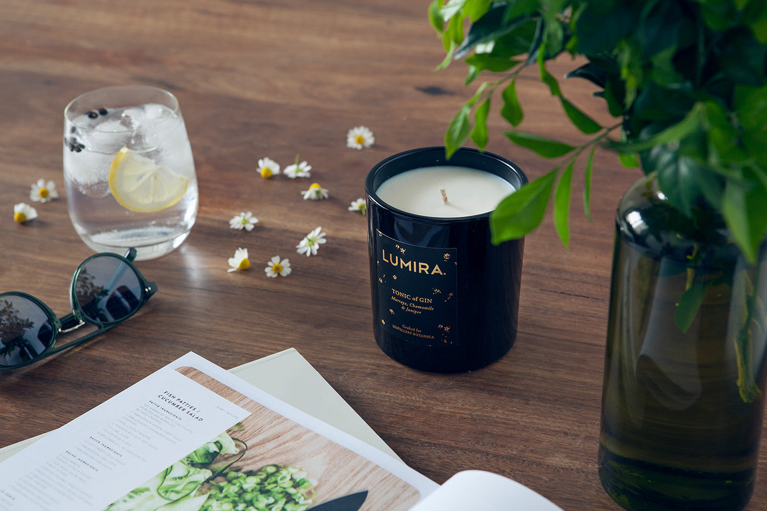 Tonic of Gin Candle