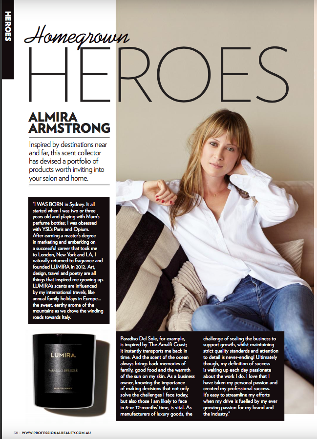 Professional Beauty Interview with Almira Armstrong