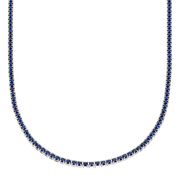 Navy Tennis Choker