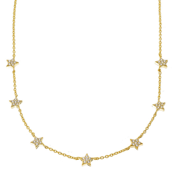 Gold Star Choker