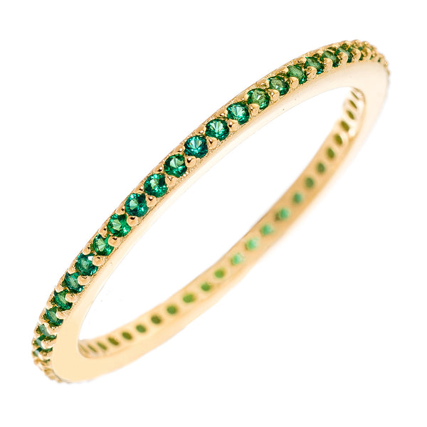 Green CZ Stackable