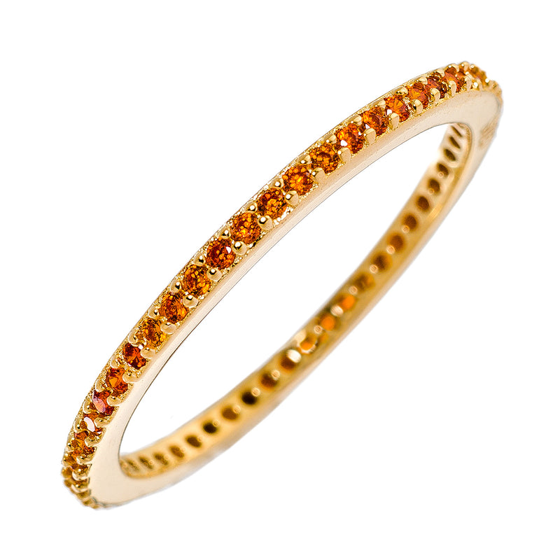 Orange CZ Stackable
