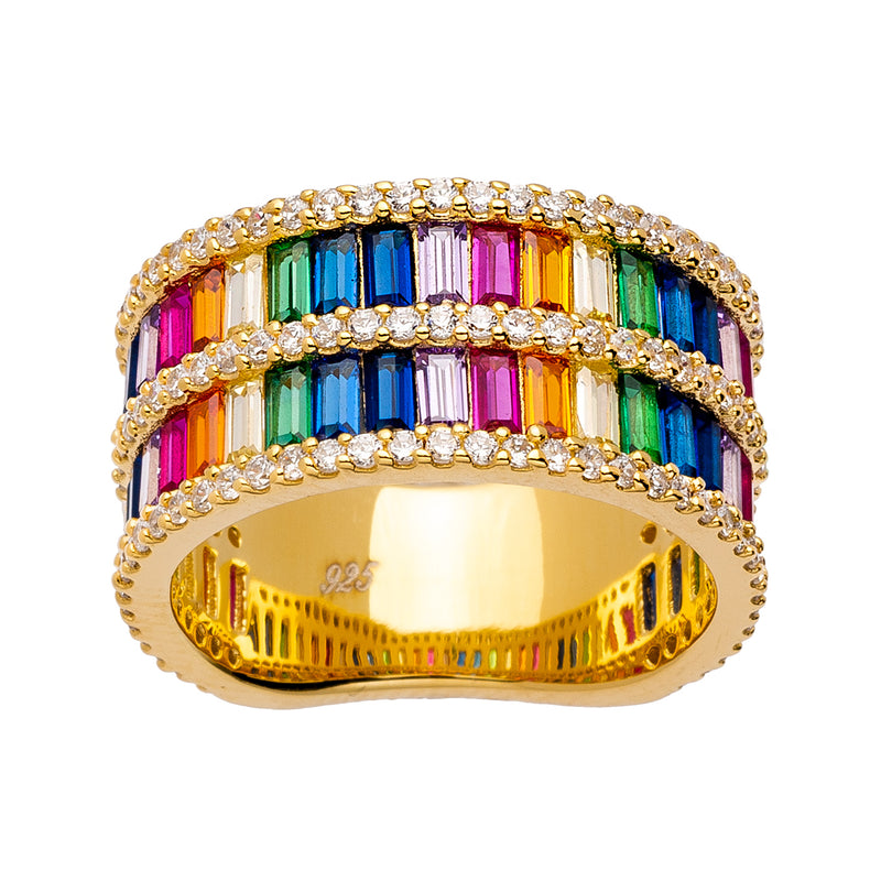 Double Rainbow Ring